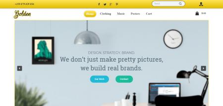 Golden - шаблон за онлайн магазин