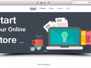 Silver - шаблон за онлайн магазин