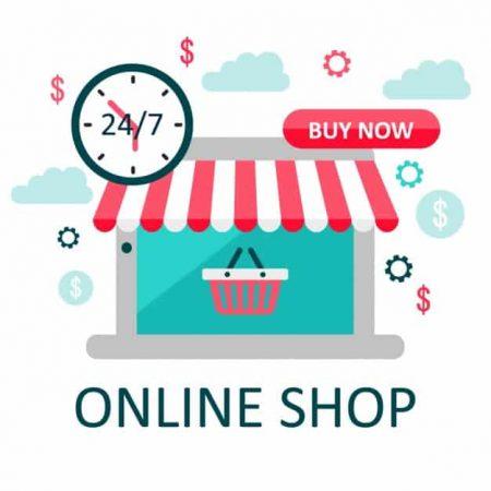 Онлайн магазин с индивидуален дизайн