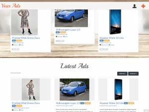 Изработка на сайт за обяви