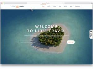 Сайт за туристически агенции с индивидуален дизайн