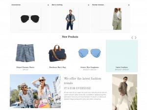 Fashionist - шаблон за онлайн магазин